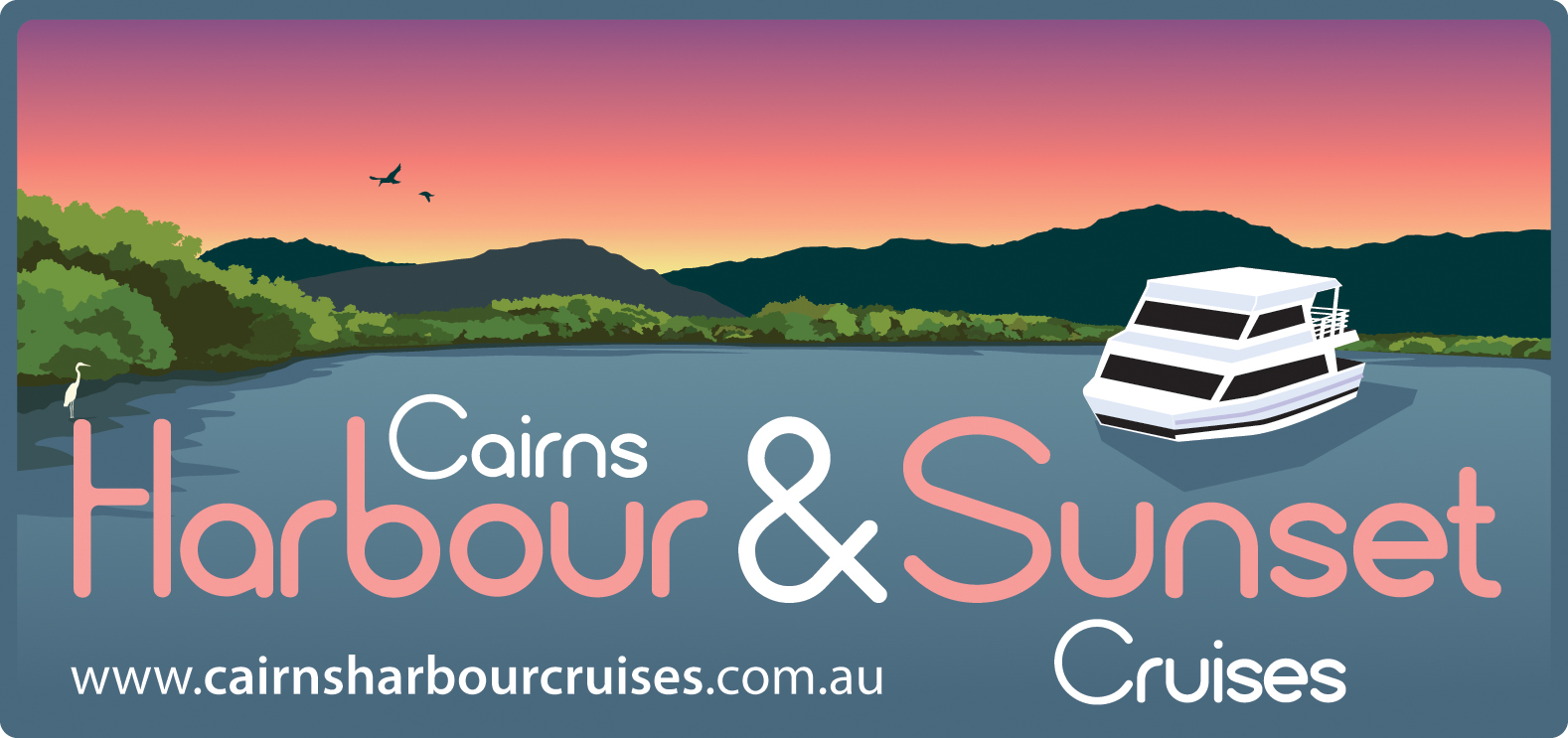 CairnsHarbourSunsetCruises_Logo with Web